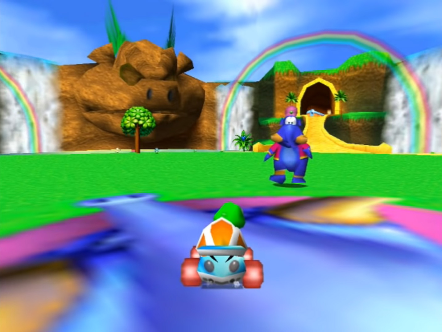 Diddy Kong Racing Level Select