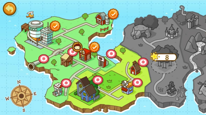 Scribblenauts Level Select