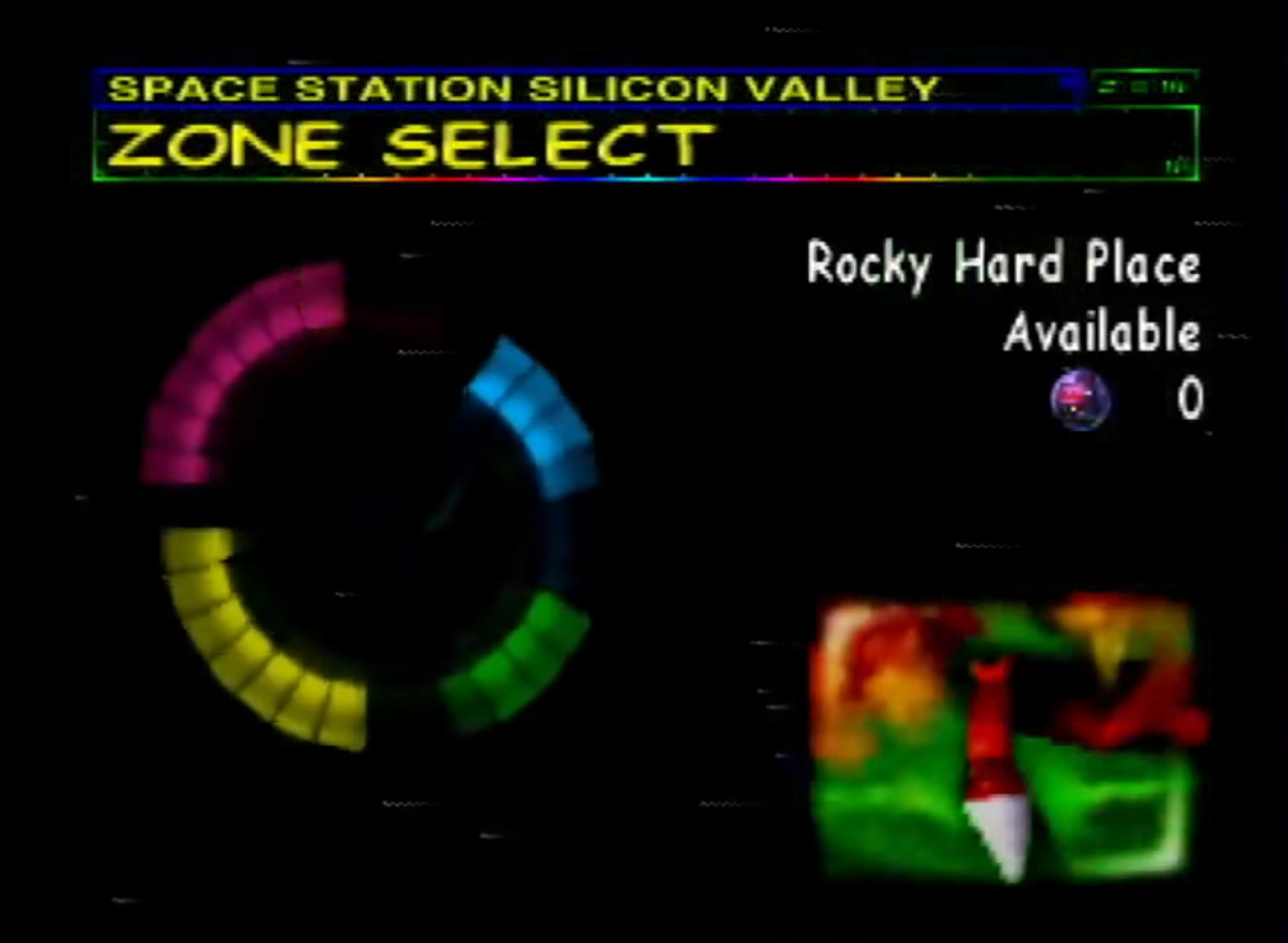 Space Station Silicon Valley Level Select