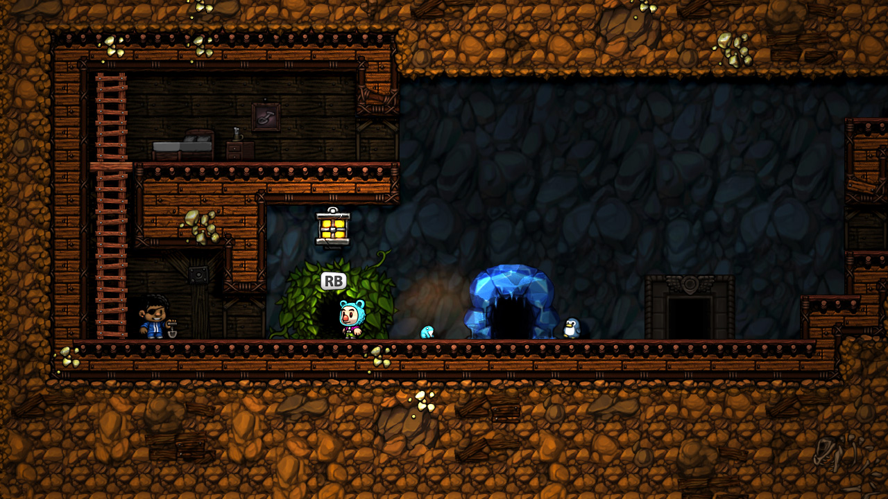 Spelunky Level Select